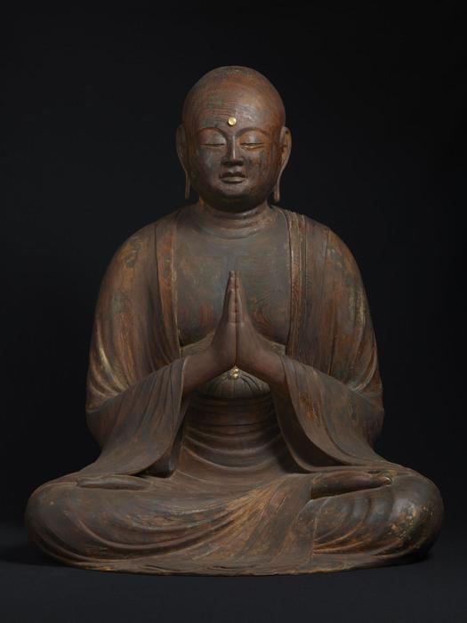 奈良博1014_地蔵菩薩・竜樹菩薩坐像